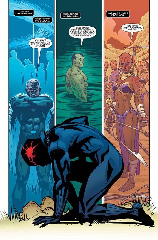 Black Panther panel 2
