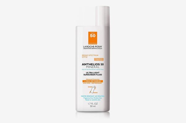La Roche-Posay Anthelios Tinted Mineral Ultra-Light Fluid Broad Spectrum SPF 50