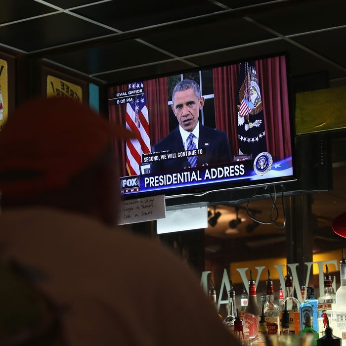 Americans Watch Obama's TV Address On Terrorism