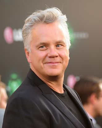 Actor Tim Robbins arrives at the premiere of