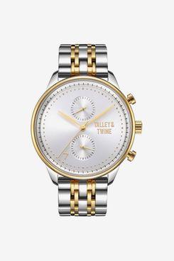 Talley & Twine Silver & Gold Men's Watch