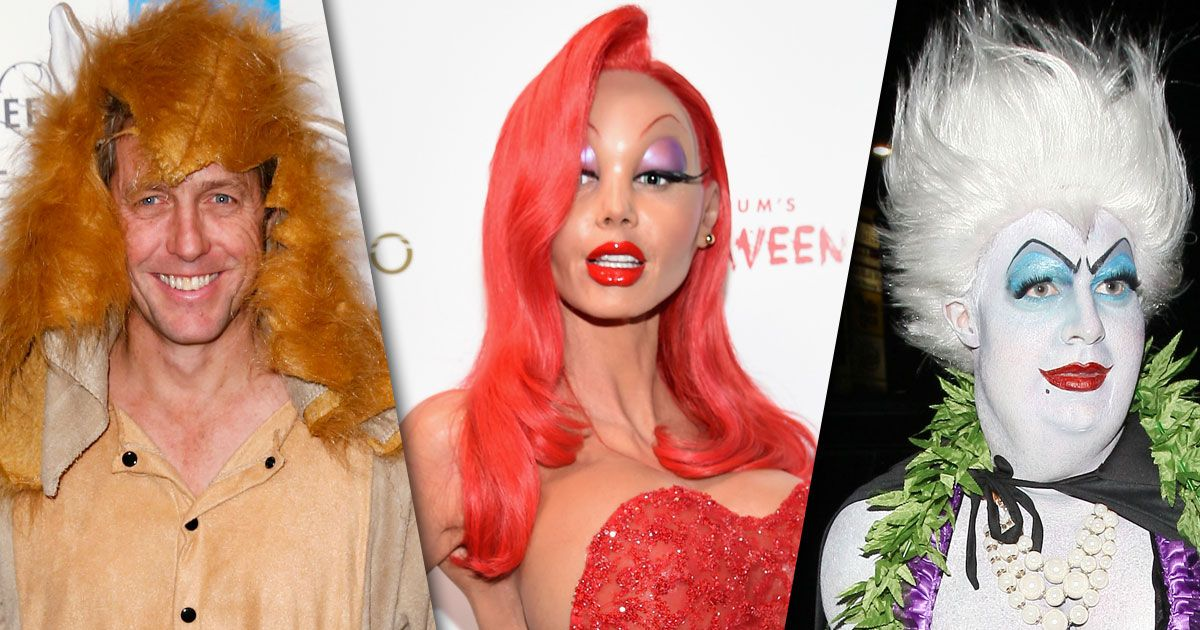best and worst celebrity halloween costumes of 2015 from heidi klum to hugh grant