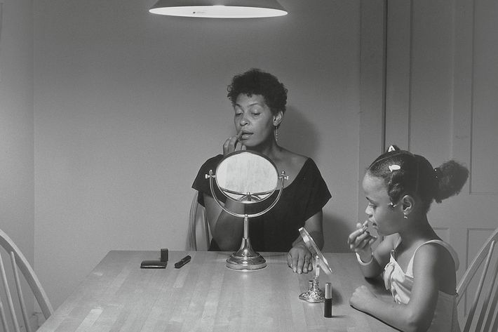 Carrie Mae Weems Kitchen Table Series See an iconic look at life around the kitchen table workwithnaturefo
