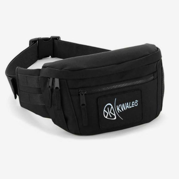 Kwaleö Utility Unisex Black Waist Pack