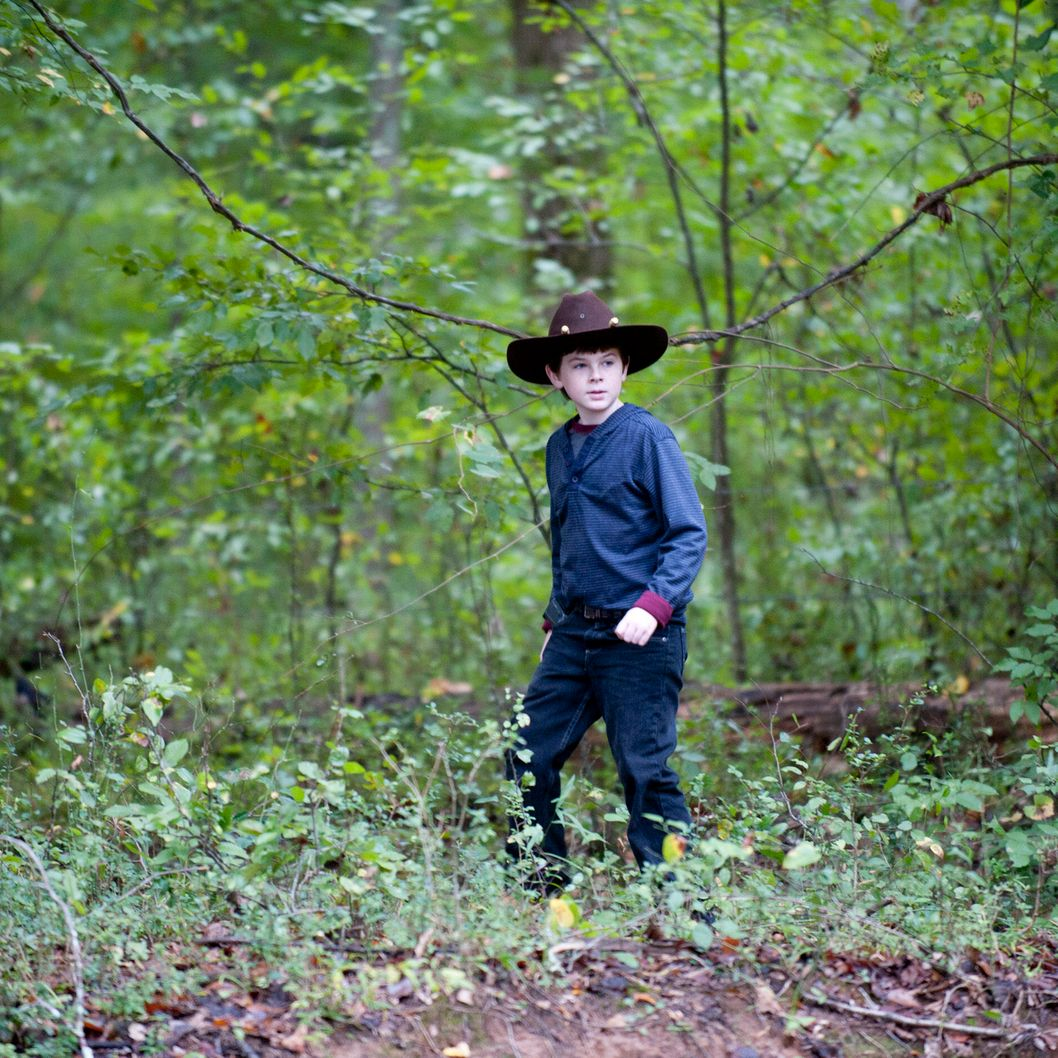 Carl Grimes (Chandler Riggs) - The Walking Dead - Season 2, Episode 11