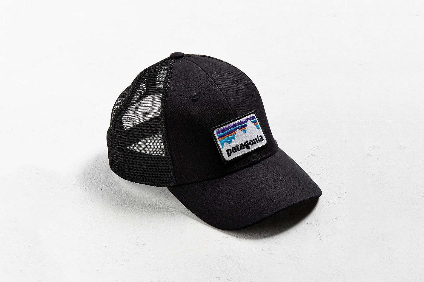 Patagonia Shop Sticker Patch Trucker Hat