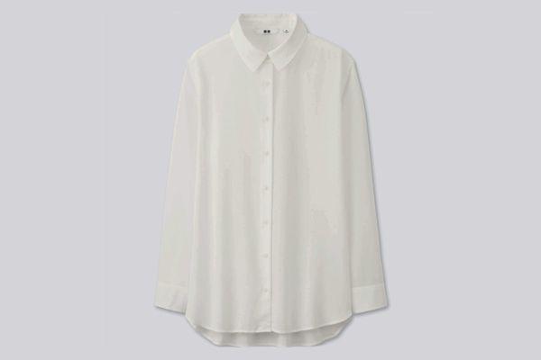 Rayon Long Sleeve Blouse