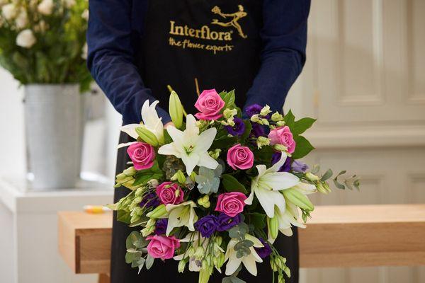 Damson Hand-Tied Bouquet