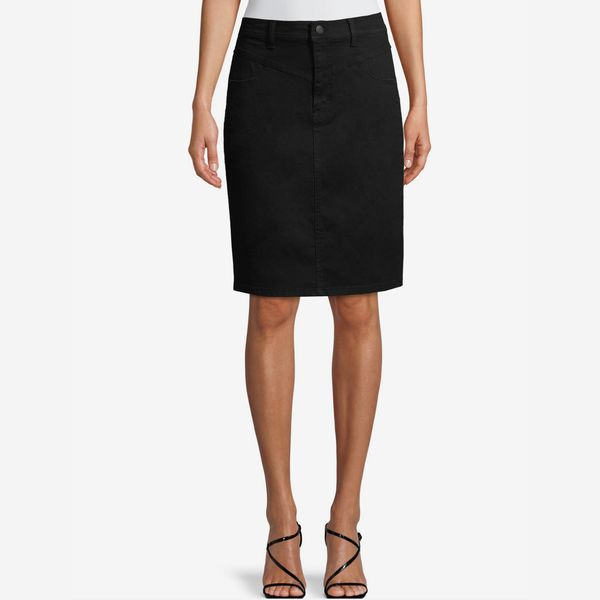 Jordache Vintage Women's Lacey Long High Rise Skirt