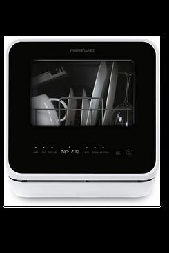 Farberware FDW05ASBWHA Complete Portable Countertop Dishwasher