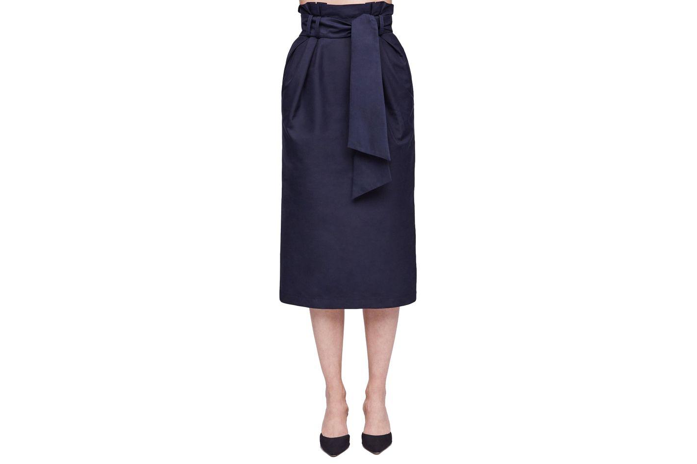 Gabriela Hearst Jordan Paperbag Skirt