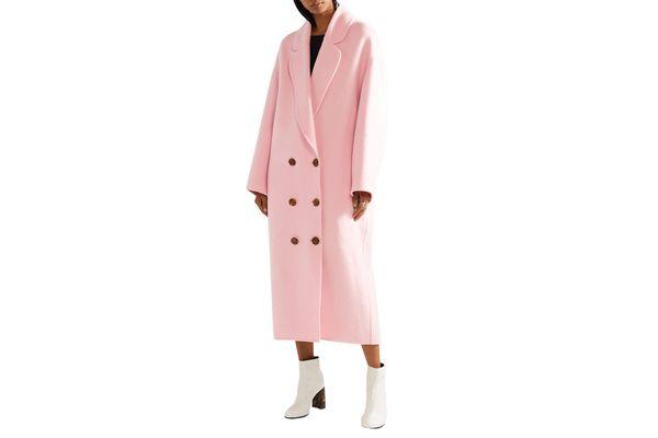 Mansur Gavriel Oversized Wool-felt Coat