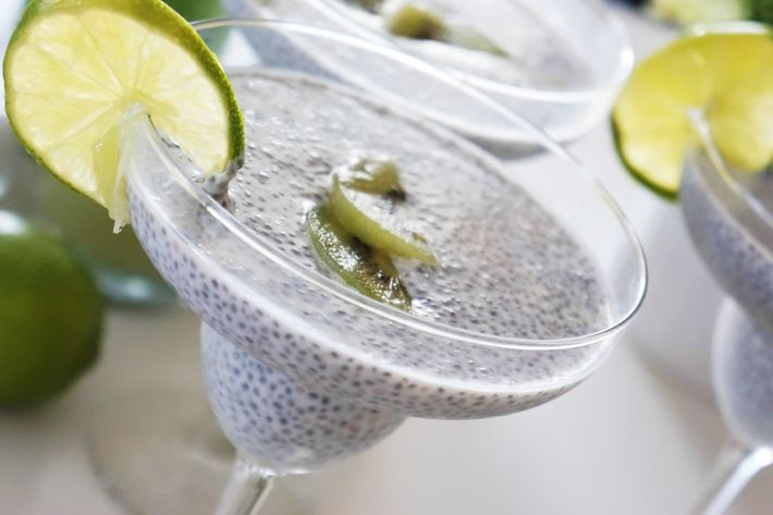 There's never been a better time to lay off the kiwi Chia-garitas.