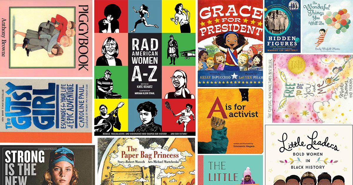 16 best childrens books that will teach kids about feminism - Books About Colors