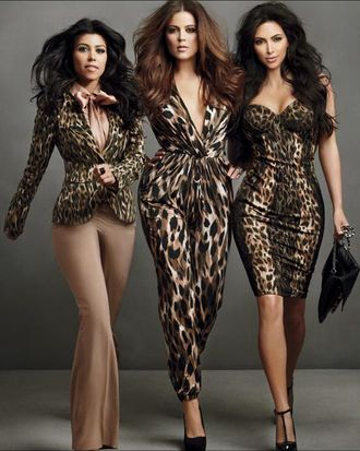 The Kardashians in the Sears cccccccccccccccccollection.