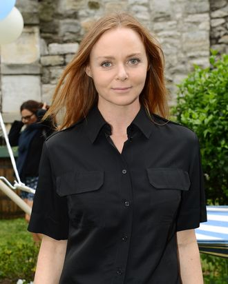 Fashion designer Stella McCartney attends the Stella McCartney Spring 2012 Presentation on June 11, 2012 in New York City.