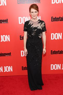 "Julianne Moore attends the ""Don Jon"" New York premiere at SVA Theater on September 12, 2013 in New York City."