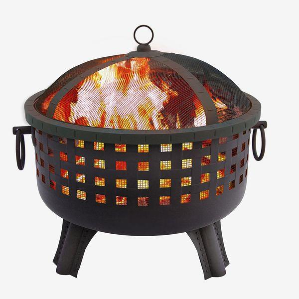 Landmann Savannah Garden Light Fire Pit, Black
