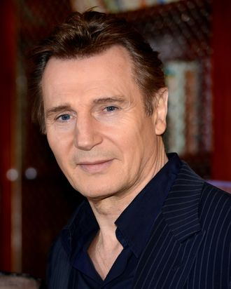 LONDON, ENGLAND - JANUARY 30: Liam Neeson attends a photocall for the film