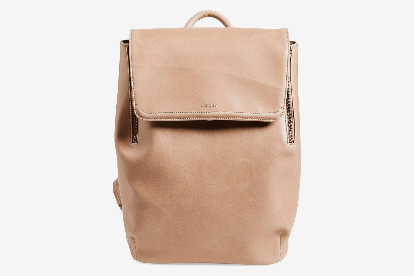 Matt & Nat Fabi Faux Leather Backpack