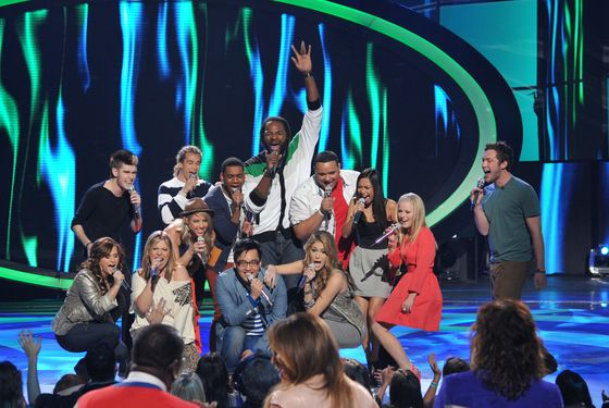AMERICAN IDOL: The Top 13 perform in front of the Judges on AMERICAN IDOL airing Thursday, March 8 (8:00-9:00 PM ET/PT) on FOX. CR: Michael Becker / FOX.