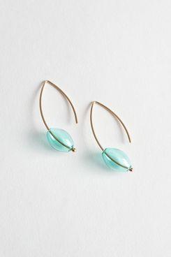 Clear Pendant Earrings