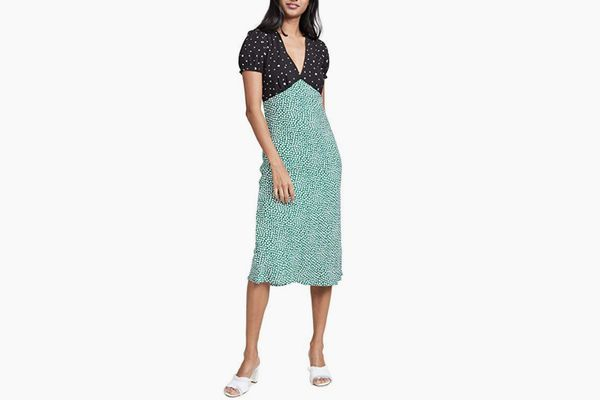 re:named Women's Mixed Print Dress