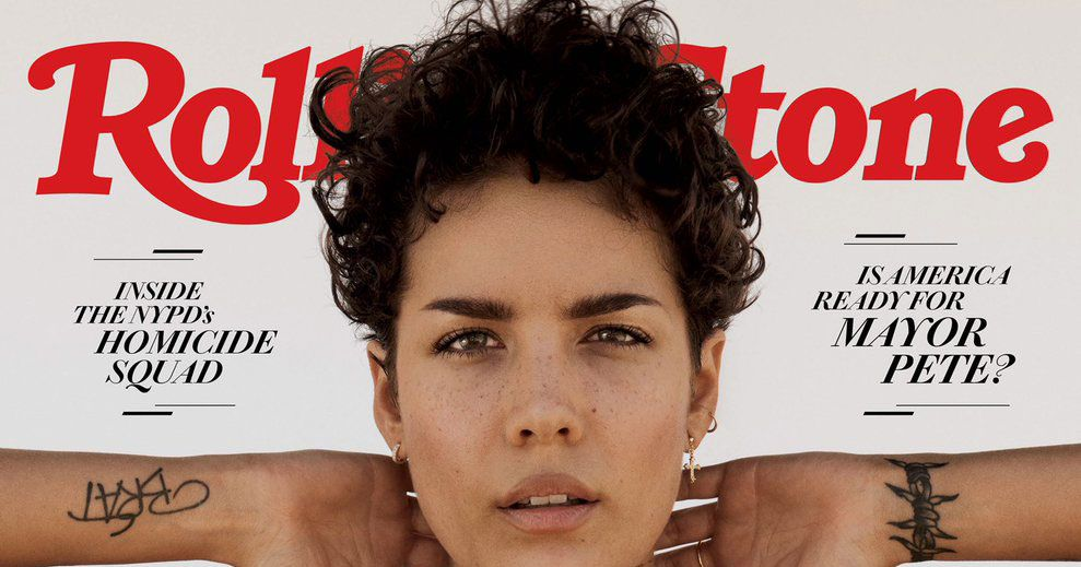 Halsey Pairs Hot Heartthrob Hair With Hot Armpit Hair