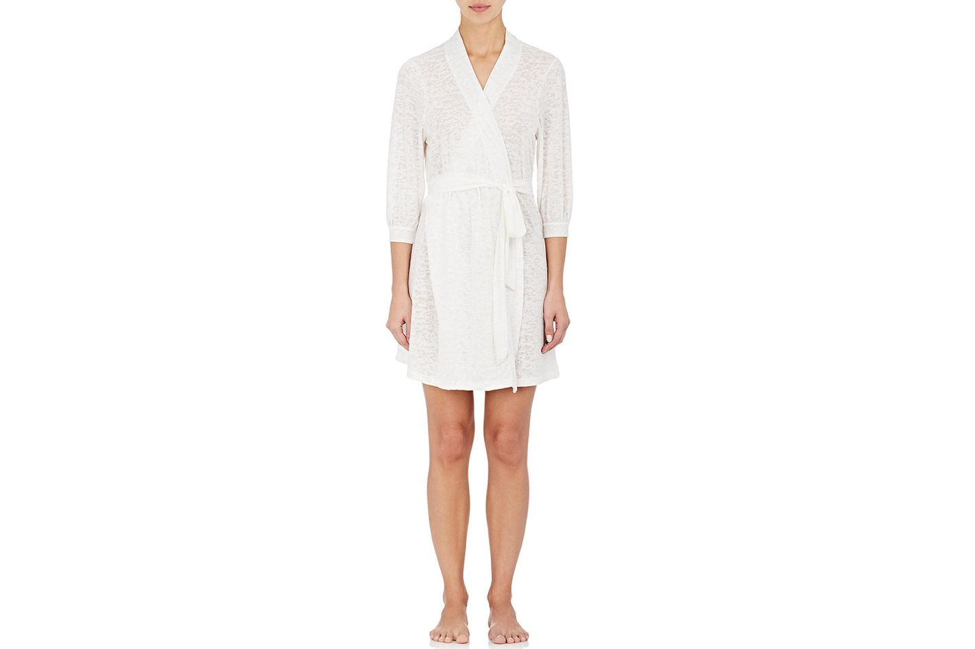 Eberjey Cloud Burnout Jersey Robe