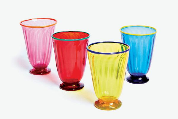 La DoubleJ Rainbow Glass Set of 4