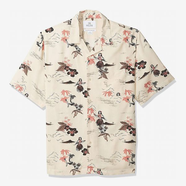 28 Palms Relaxed-Fit Vintage Hawaiian Shirt