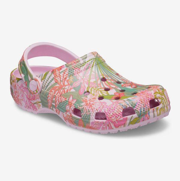 Crocs Classic Rain Forest Canopy Pink Clog