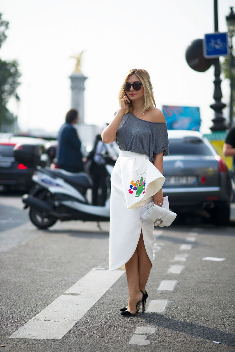 Paris Fashion Week Spring 2014 Dior Street Style The Cut