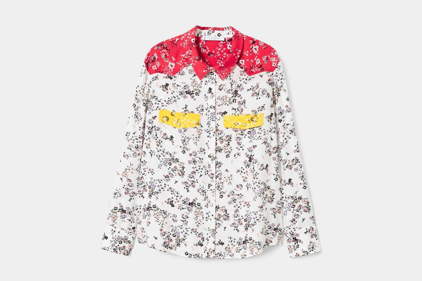 Floral Flowy Shirt
