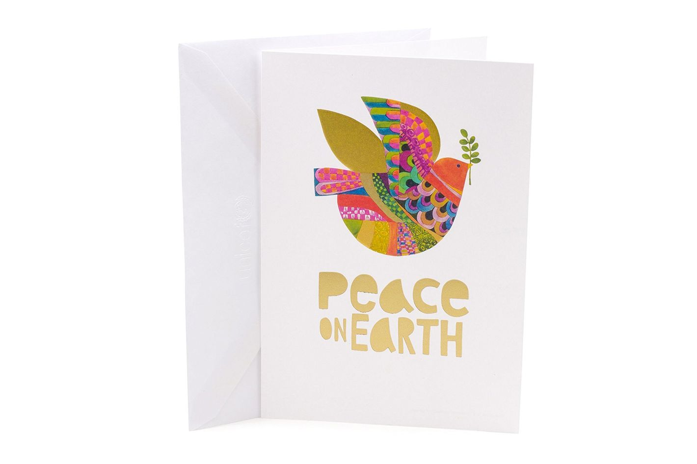 Hallmark UNICEF Christmas Boxed Cards (Peace On Earth Dove Lettering)