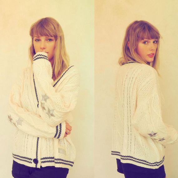Taylor Swift Merch Store Selling a 'Cardigan' Album Bundle
