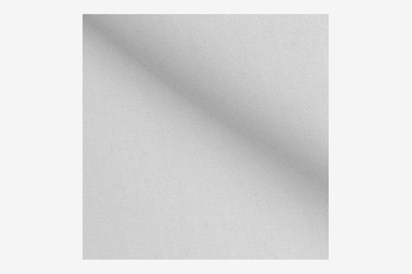 Roc-lon Blackout Drapery Lining White Fabric by the Yard