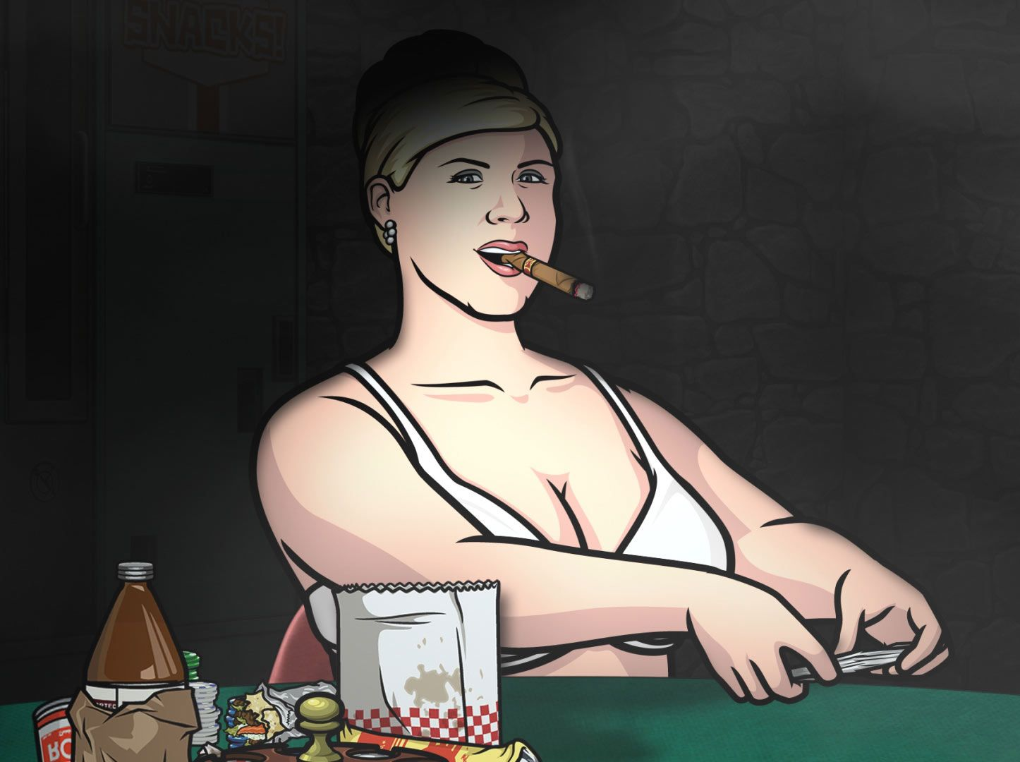 Archer cartoonporn pics xxx video