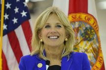 Dr Jill Biden Visits Broward College