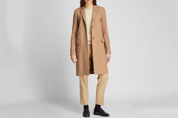 Cashmere Blend Coat