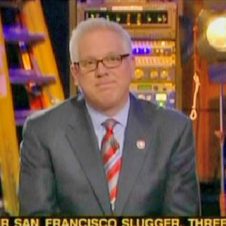 Glenn Beck announces possibly leaving his show.