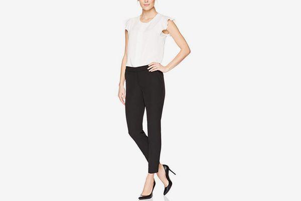 Lark & Ro Women's Slim Ankle Pant: Modern Fit
