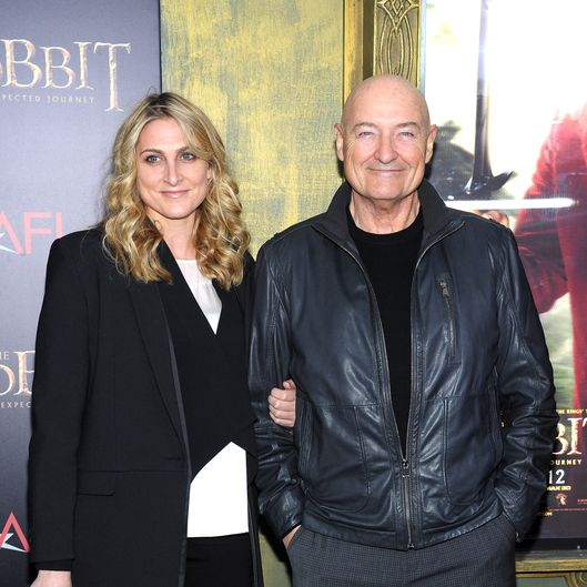 "Terry O'Quinn (R) attends ""The Hobbit: An Unexpected Journey"" New York premiere benefiting AFI at Ziegfeld Theater on December 6, 2012 in New York City."