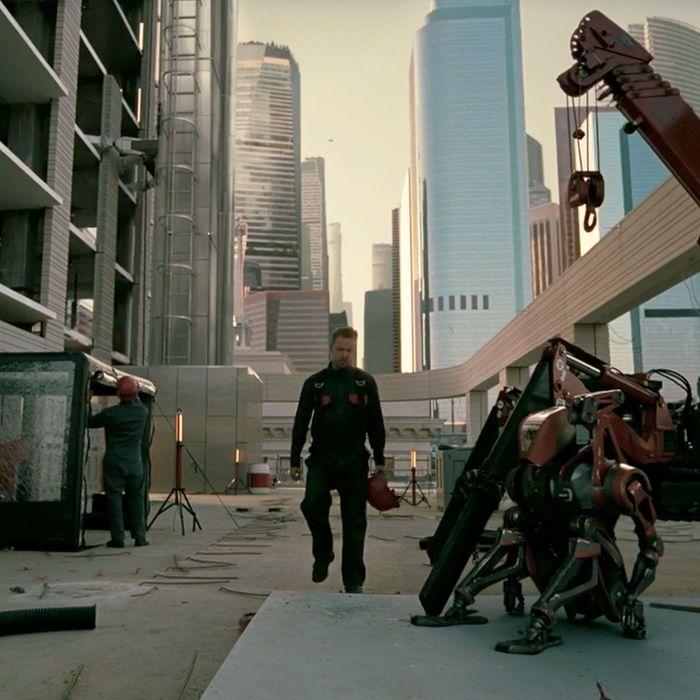 Aaron Paul in Westworld season three.