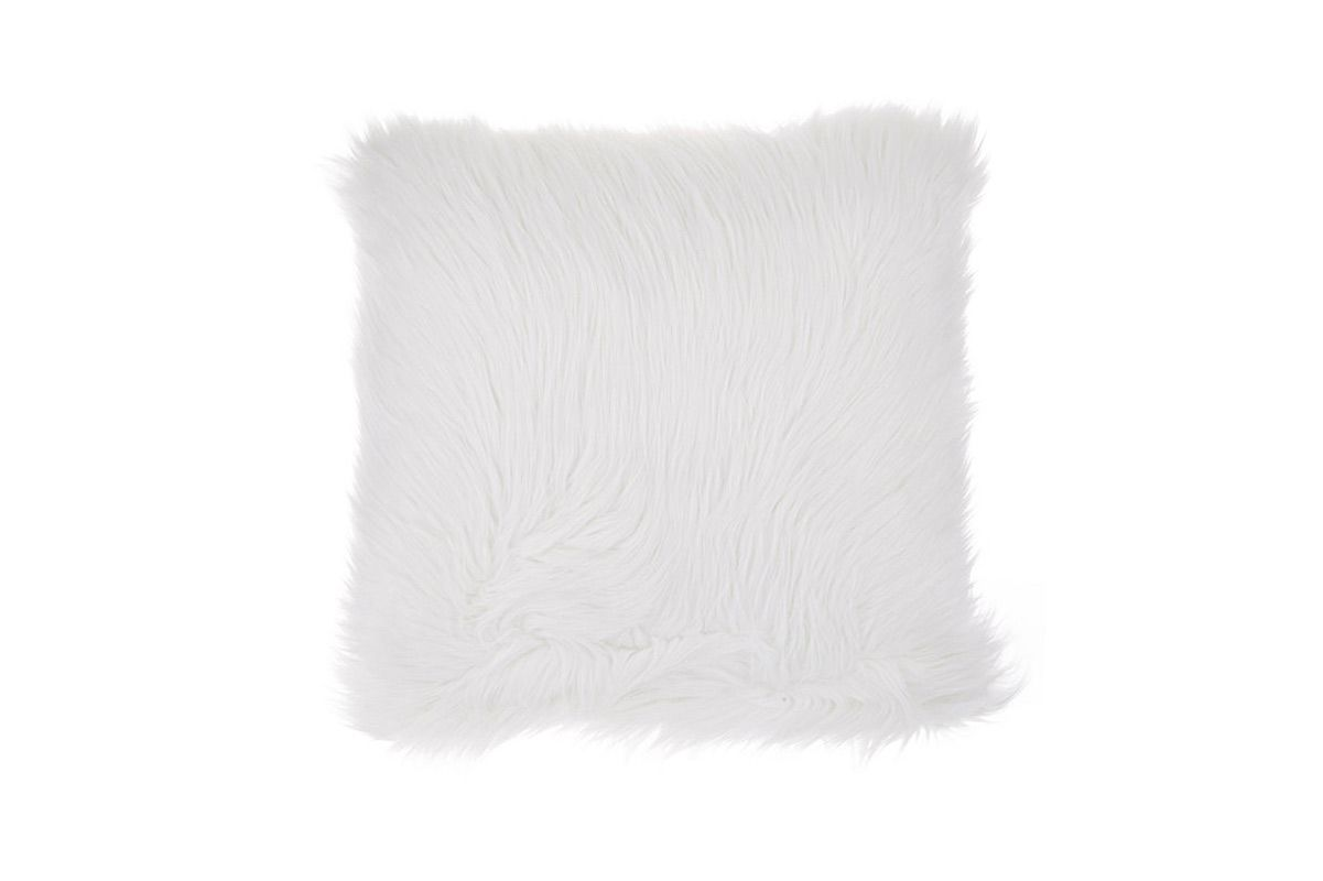 Aviva Stanhoff Fox Faux-Fur Pillow