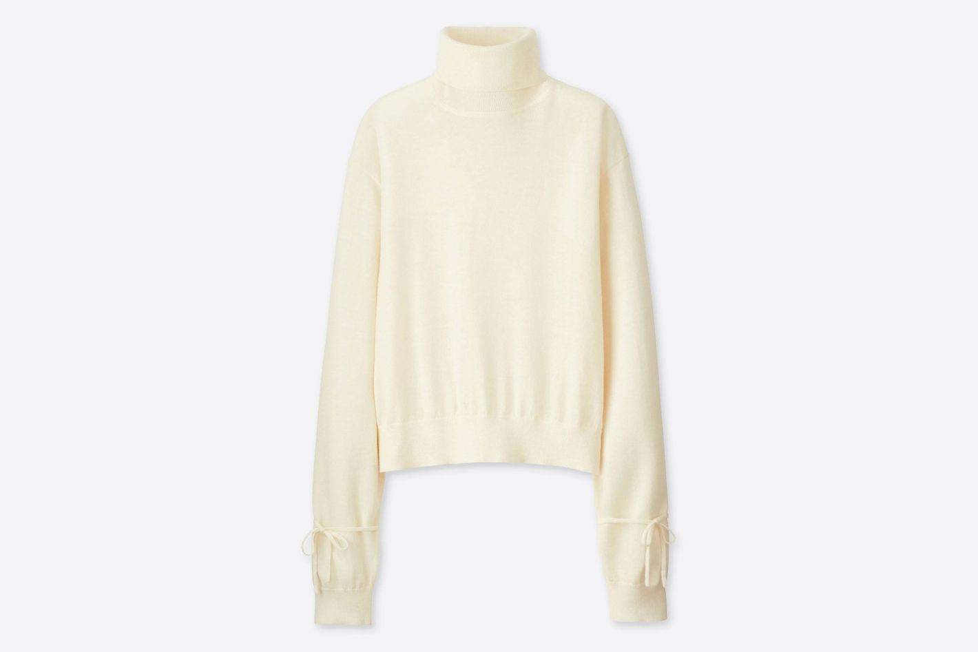 J.W. Anderson x Uniqlo Ivory Oversize Sweater