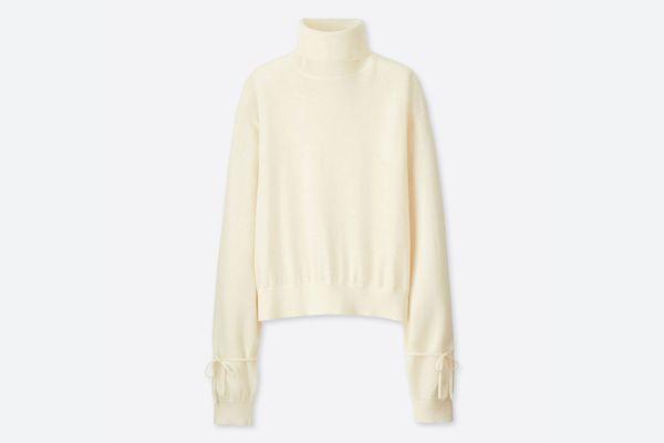 J.W. Anderson x Uniqlo Ivory Oversize Sweater