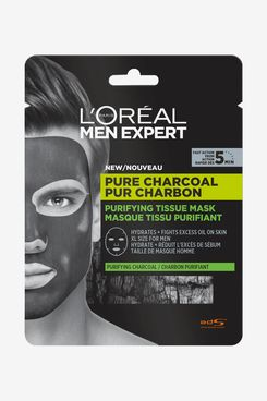 L'Oréal Men Expert Pure Charcoal Purifying Tissue Face Mask