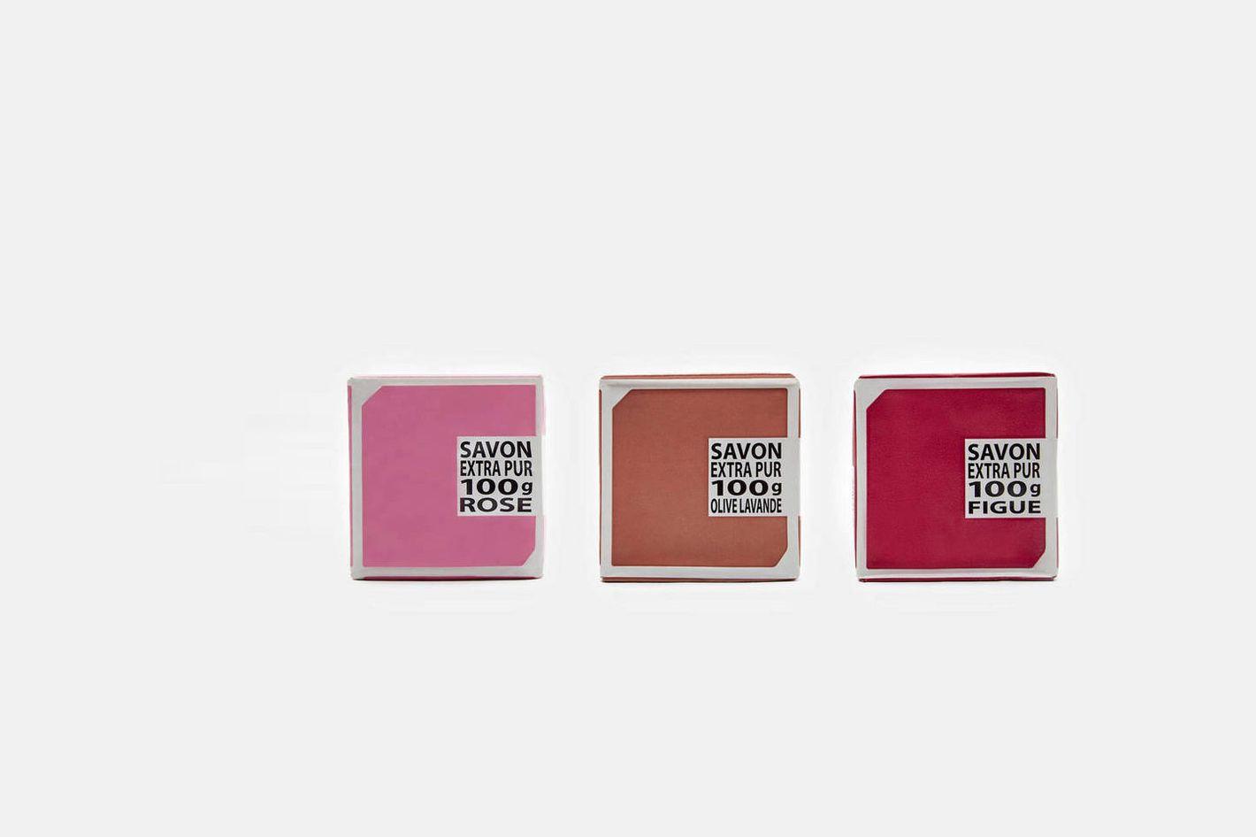 Compagnie de Provence Three Soap Set