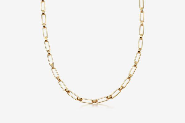 Missoma Gold Aegis Chain Necklace